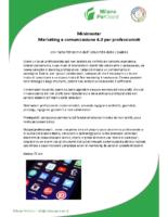 Minimaster Marketing e comunicazione 4.0 per professionisti