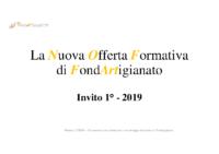 Invito 1°/19